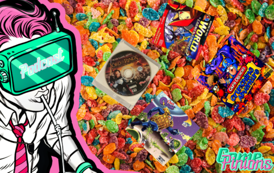 Gamepinions Episode 37: Weird Video Games In Our Cereal Boxes